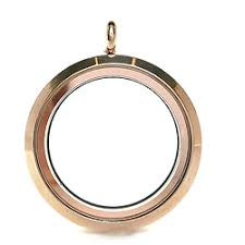 Large Rose Gold Memory Locket