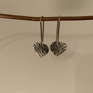 Anna B Jewellery Sterling Silver Hearts
