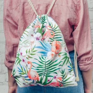 Flamingo Swim Bag