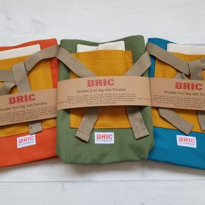 Pickled Jellybeans Bric Reuseable Food Bag with Furoshiki