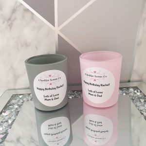 Cheshire Scents Co Personalised Candle Gift