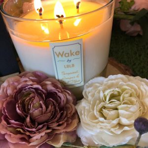 Wake By LBLB Three Wick Candle