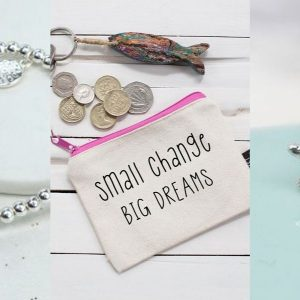 Small Change Big Dreams Coin Purse