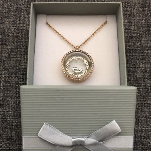 Rose Gold Mum Memory Locket