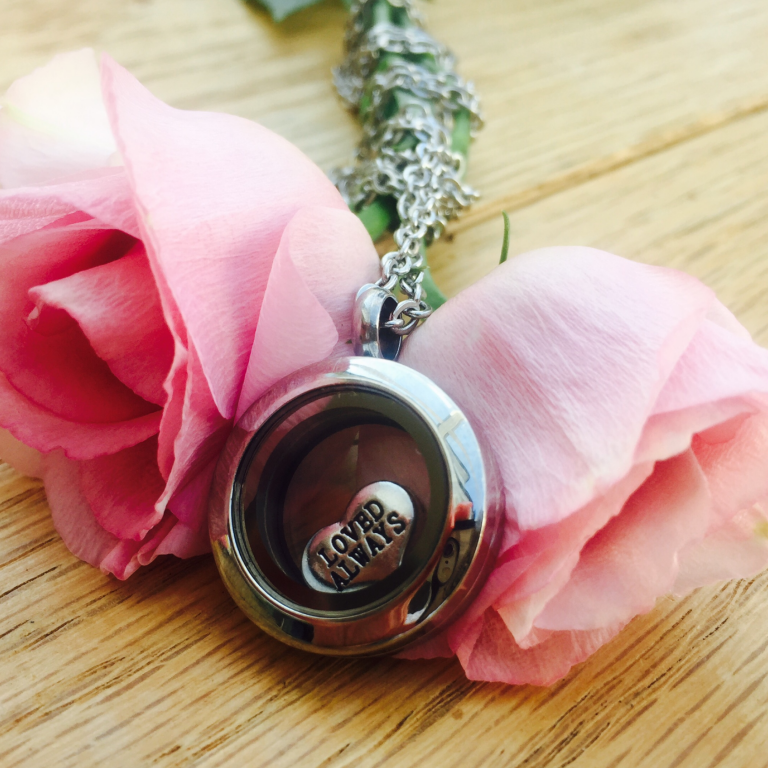 Mini Silver Memory Locket