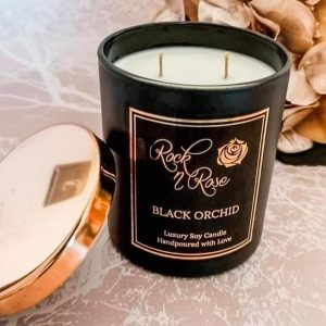 Black Orchid Large Luxury Candle