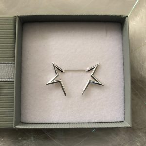 Half Star Earrings