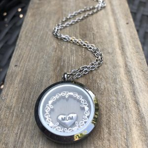 Silver Mum Memory Locket
