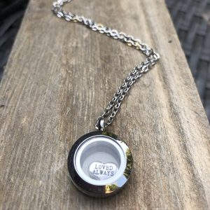 Loved Always Memory Locket