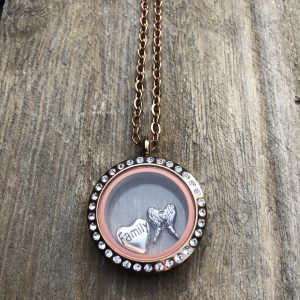 Rose Gold Family Locket